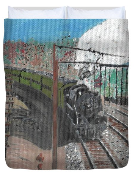 Train 641 Duvet Cover