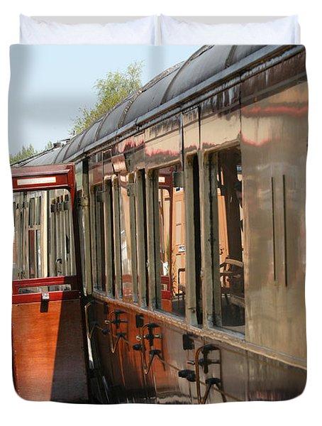 Train Transport Duvet Cover