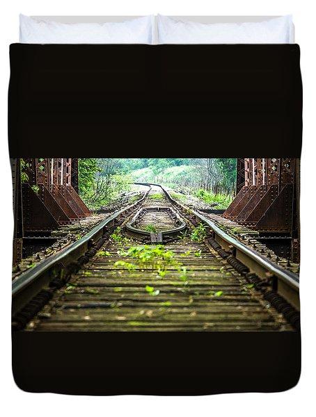 Train Trestle 2 Duvet Cover