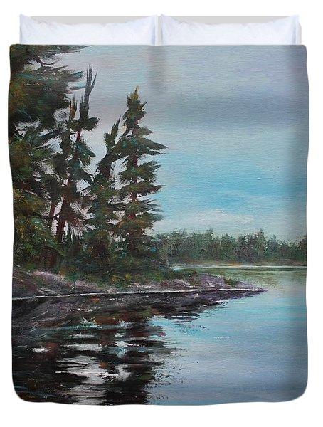 Tranquil Bay Duvet Cover