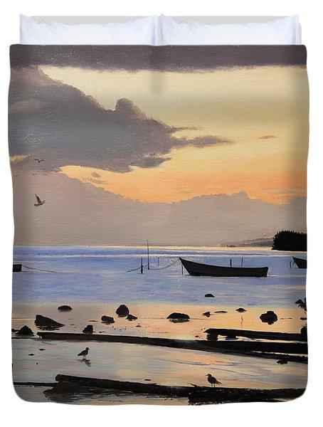 Tranquil Dawn Duvet Cover