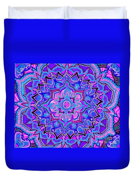 Tranquil Lotus Duvet Cover