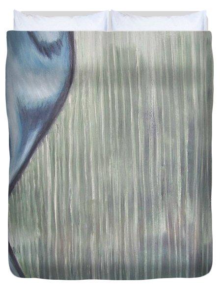 Tranquil Rain Duvet Cover