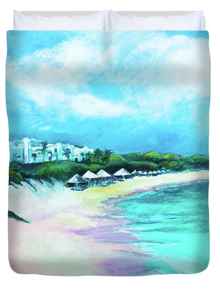 Tranquility Anguilla Duvet Cover