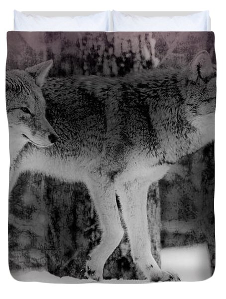 Duvet Cover featuring the photograph Tranquility by Bianca Nadeau