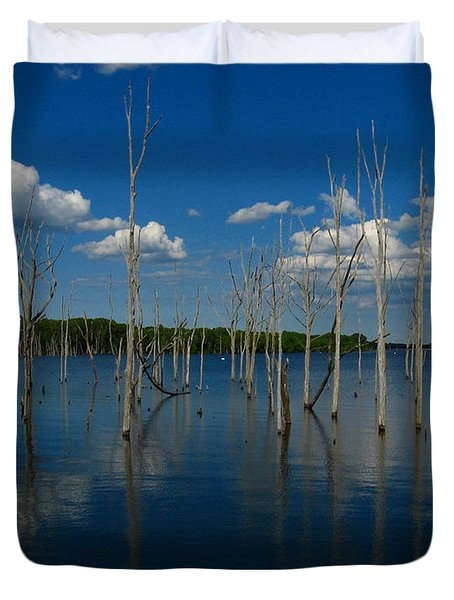 Duvet Cover featuring the photograph Tranquility II by Raymond Salani III