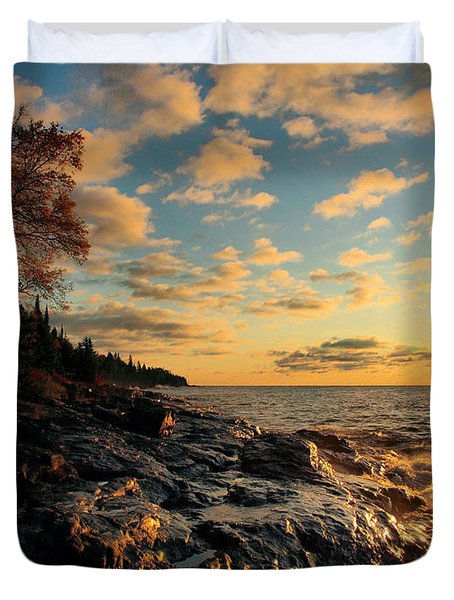 Tranquility Duvet Cover by James Peterson