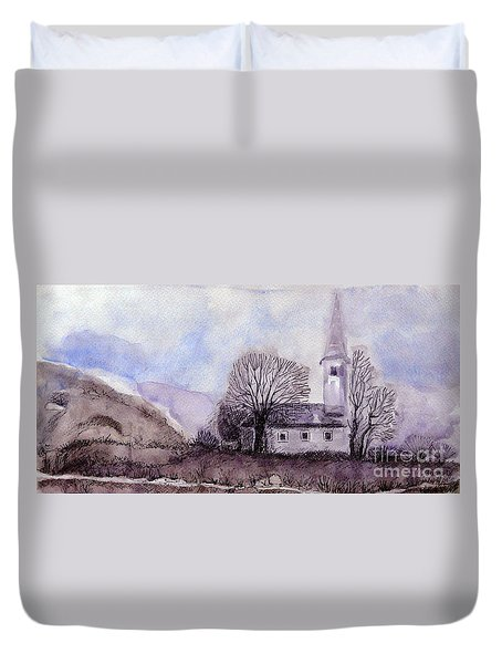 Tranquility Duvet Cover by Jasna Dragun