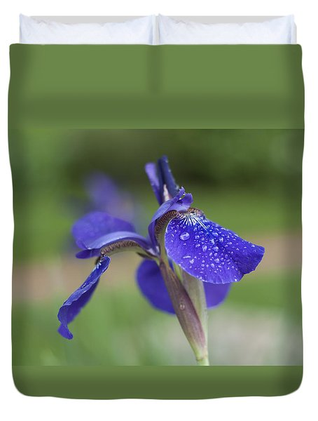 Duvet Cover featuring the photograph Tranquility by Miguel Winterpacht
