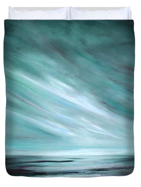 Tranquility Sunset Duvet Cover