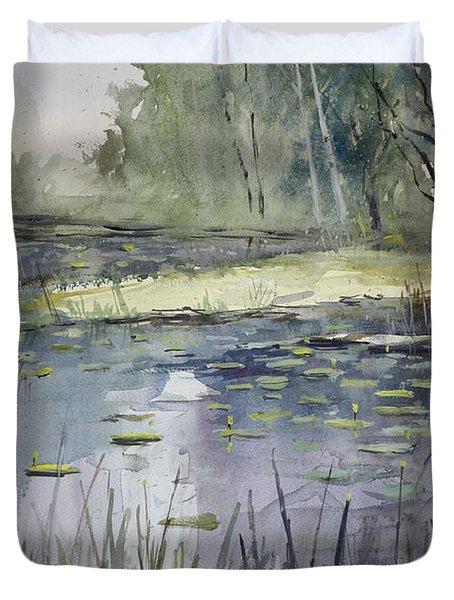 Tranquillity Duvet Cover by Ryan Radke