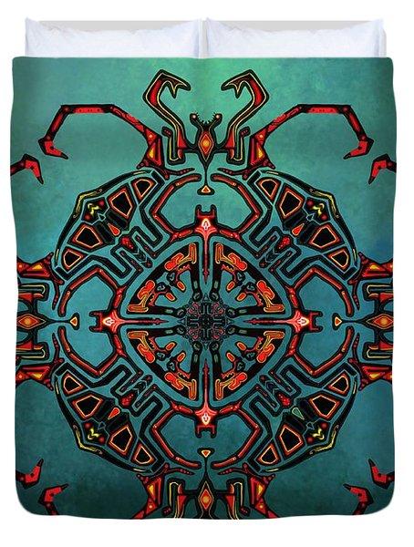 Transcrab Duvet Cover