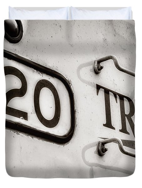 Tre 120 Duvet Cover by Joan Carroll