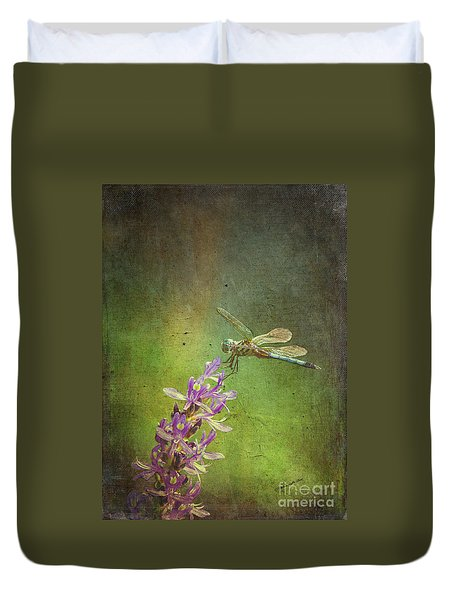 Treading Lightly Duvet Cover by Patricia Griffin Brett