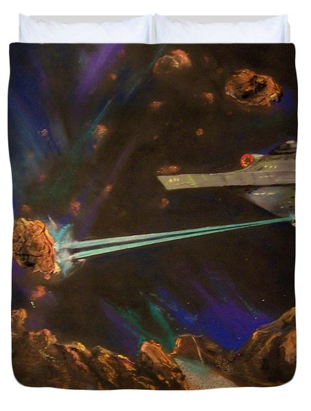 Trek Adventure Duvet Cover by Peter Suhocke