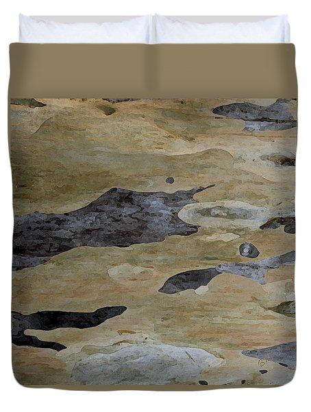 Tree Bark I Duvet Cover by Ben and Raisa Gertsberg