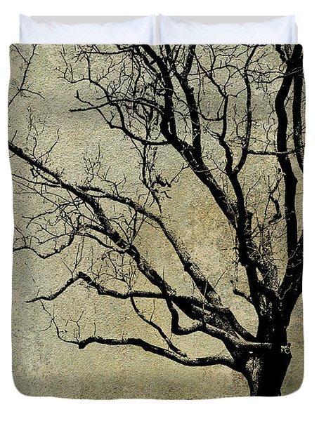 Tree Before Spring Duvet Cover