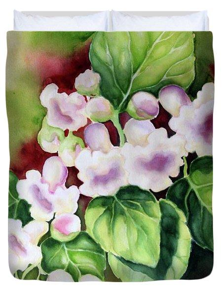 Tree Blossoms Duvet Cover