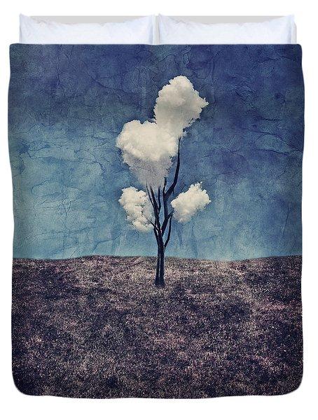 Tree Clouds 01d2 Duvet Cover