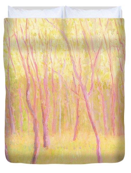 Tree Dance Duvet Cover