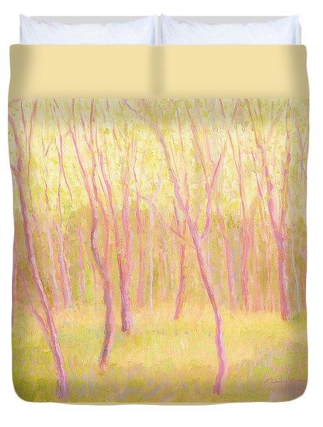 Tree Dance Duvet Cover by J Reifsnyder
