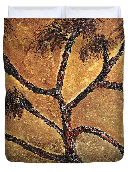 Tree Duvet Cover by Dick Bourgault