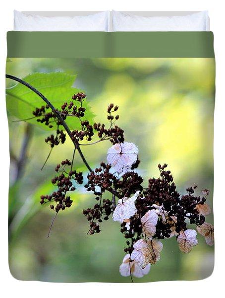 Tree Filigree Duvet Cover by Deborah  Crew-Johnson
