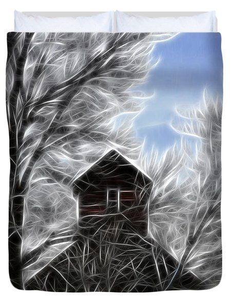 Tree House Duvet Cover by Steve McKinzie