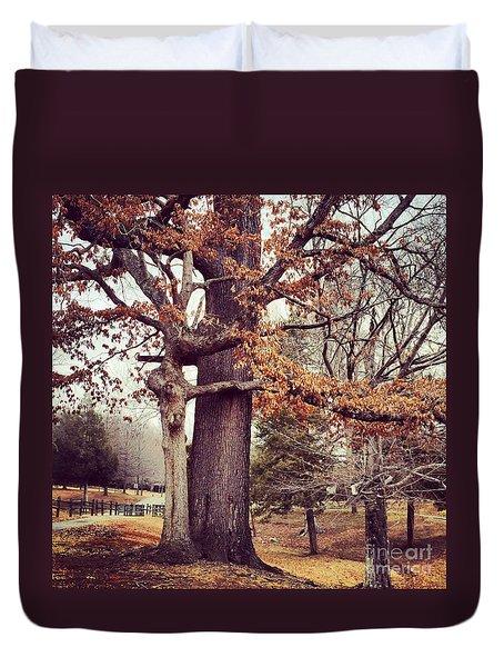 Tree Hugging Duvet Cover