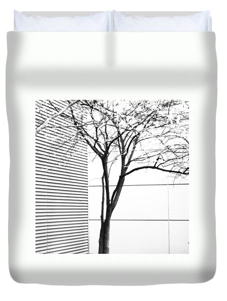 Tree Lines Duvet Cover