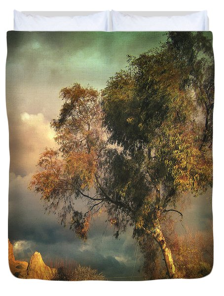 Tree Of Confusion Duvet Cover by Taylan Apukovska