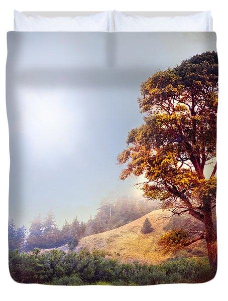 Tree Of Dreams Duvet Cover by Debra and Dave Vanderlaan