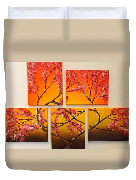 Tree Of Infinite Love Duvet Cover