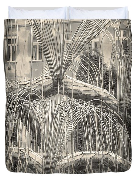 Tree Of Life Dohany Street Synagogue Duvet Cover