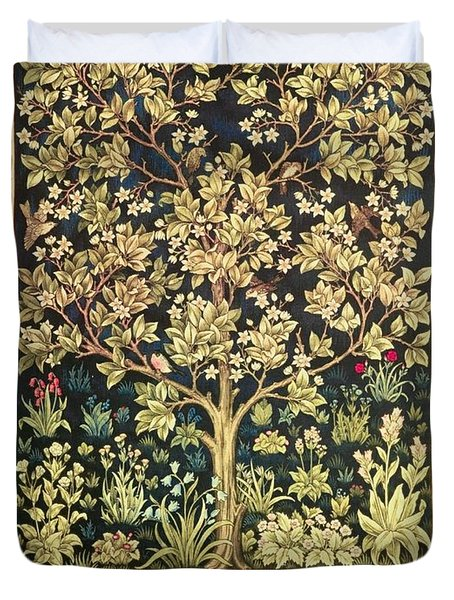 Tree Of Life Duvet Cover by William Morris