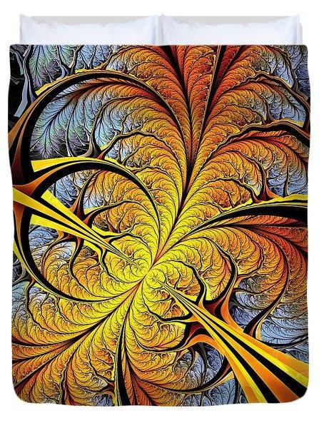 Tree Perspective Duvet Cover by Anastasiya Malakhova