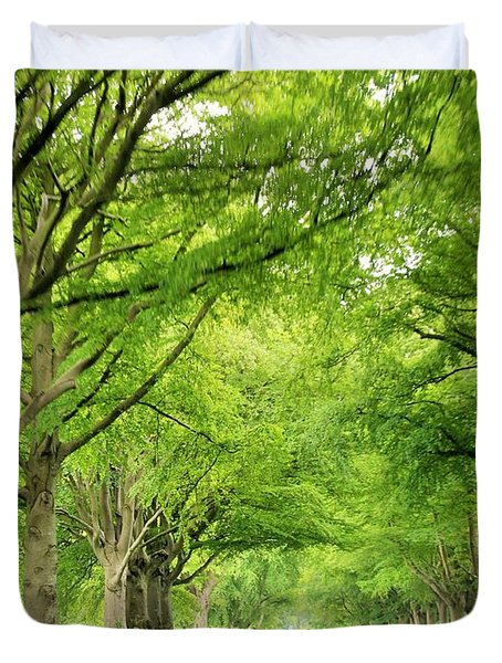 Tree Avenue Duvet Cover