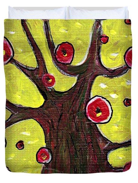 Tree Sentry Duvet Cover by Anastasiya Malakhova