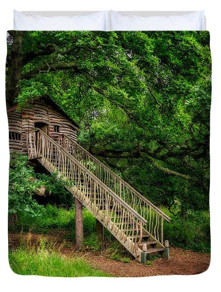 Treehouse Duvet Cover