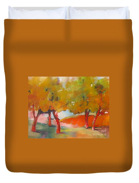 Trees #5 Duvet Cover