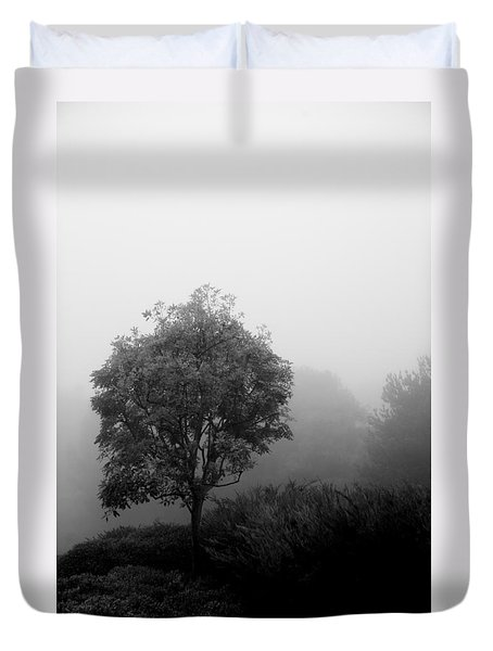 Trees In The Midst 2 Duvet Cover