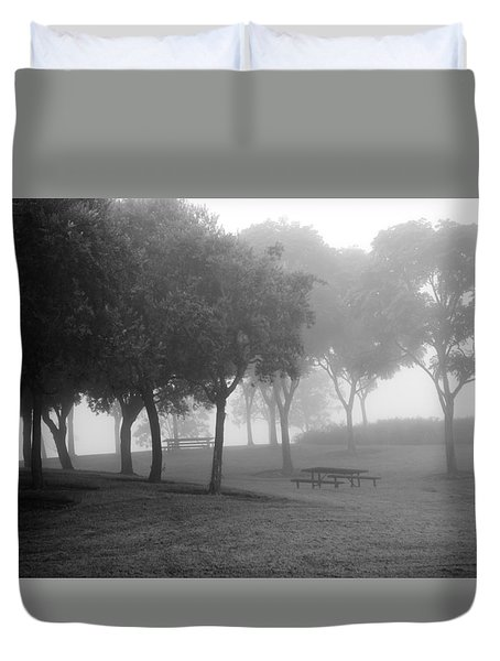 Trees In The Midst 3 Duvet Cover