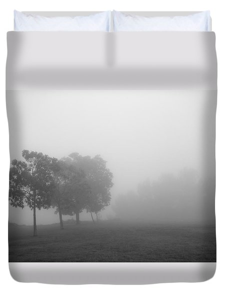 Trees In The Midst 5 Duvet Cover