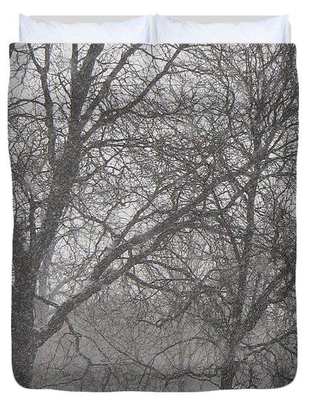 Trees Of Silence Duvet Cover