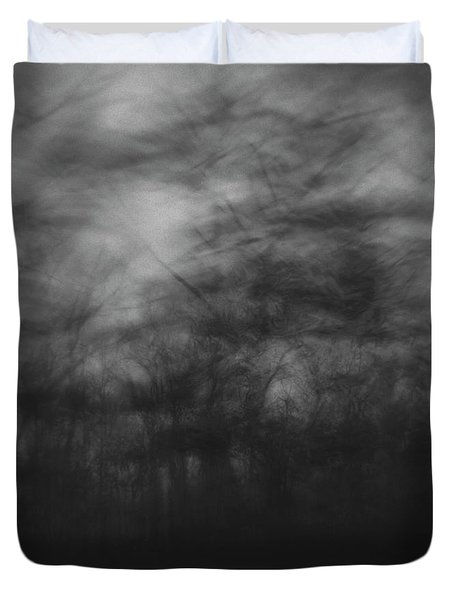 Trees Sway In The Wind, Marthas Duvet Cover