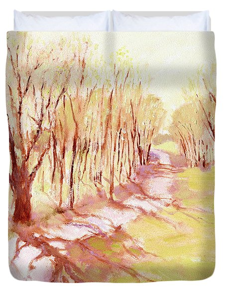 Trees4 Duvet Cover by J Reifsnyder
