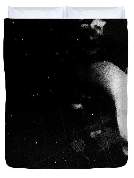 Trepidation Duvet Cover by Jessica Shelton