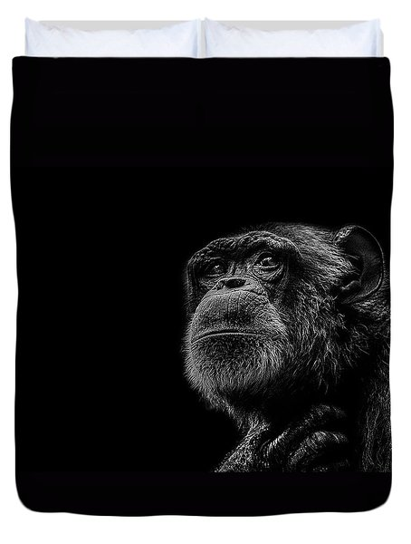Trepidation Duvet Cover by Paul Neville