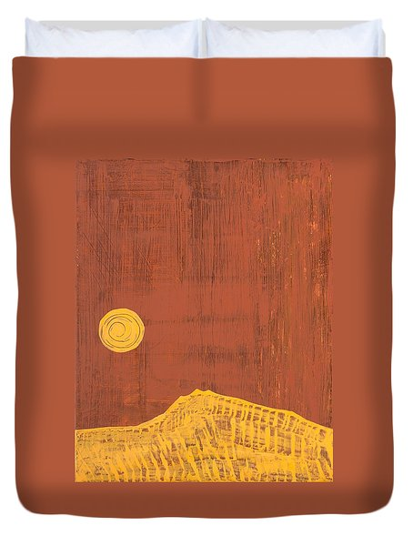 Tres Orejas Original Painting Duvet Cover by Sol Luckman