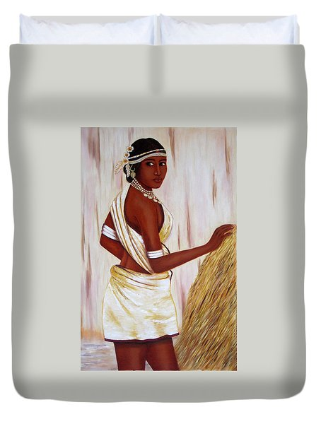 Tribal Girl Duvet Cover